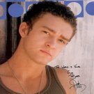 timberlakeD Autographed Preprint Signed Photo
