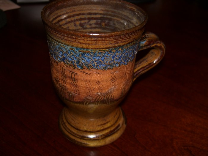 Vintage Stoneware Mug by Jodell