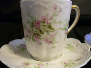 Haviland Limoges Tea Cup Set of 2 / Great Condition