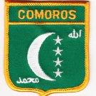 Comoros (1996-2001) Shield Patch
