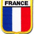 France Shield Patch
