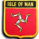 Isle of Man Shield Patch