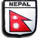 Nepal Shield Patch