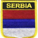 Serbia Shield Patch (Civil)