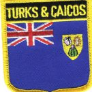 Turks and Caicos Shield Patch