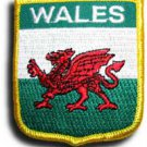 Wales Shield Patch