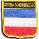 Serbia & Montenegro Shield Patch