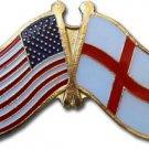 England (St. George) Friendship Pin