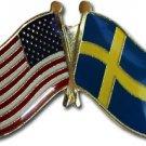 Sweden Friendship Pin