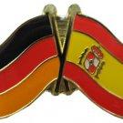 Germany Spain Friendship Pin
