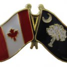 Canada South Carolina Friendship Pin