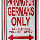 Germany Parking Sign