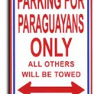 Paraguay Parking Sign