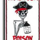 Name Your Poison Parking Sign