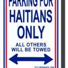 Haiti Parking Sign