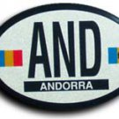 Andorra Oval decal