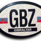 Gibraltar Oval decal