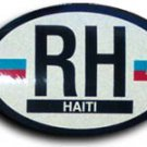 Haiti Oval decal