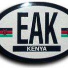 Kenya Oval decal
