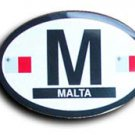 Malta Oval decal