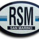 San Marino Oval decal
