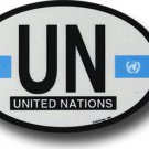 United Nations Oval decal