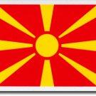 Macedonia, Republic of Auto Decal