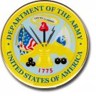 "Army - 2.75"""" Circular Domed Sticker"