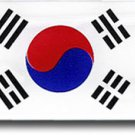 South Korea Domed Sticker