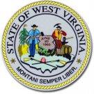 "West Virginia - 3.5"""" State Seal"