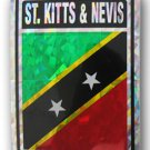 St. Kitts and Nevis Reflective Decal