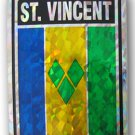 St. Vincent and the Grenadines Reflective Decal