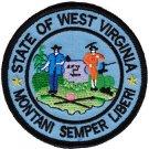 West Virginia Circular Patch