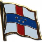 Netherlands Antilles Flag Lapel Pin