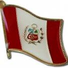 Peru Flag Lapel Pin