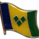 St. Vincent and the Grenadines Flag Lapel Pin