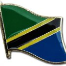 Tanzania Flag Lapel Pin