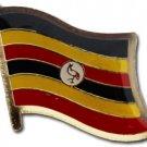 Uganda Flag Lapel Pin