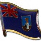 Montserrat Flag Lapel Pin