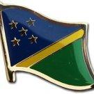 Solomon Islands Flag Lapel Pin