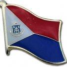 St. Maarten Flag Lapel Pin