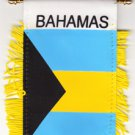 Bahamas Window Hanging Flag