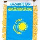 Kazakhstan Window Hanging Flag