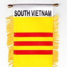 South Vietnam Window Hanging Flag