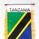 Tanzania Window Hanging Flag