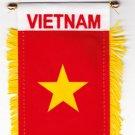 Vietnam Window Hanging Flag