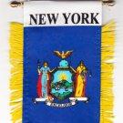 New York Window Hanging Flag