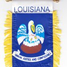 Louisiana Window Hanging Flag