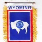 Wyoming Window Hanging Flag