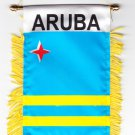 Aruba Window Hanging Flag